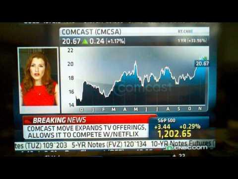 Comcast Mobile TV On IPad