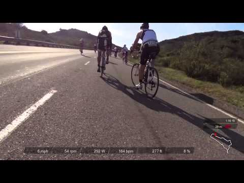 2014 Oceanside 70.3 Half IronMan Bike Course