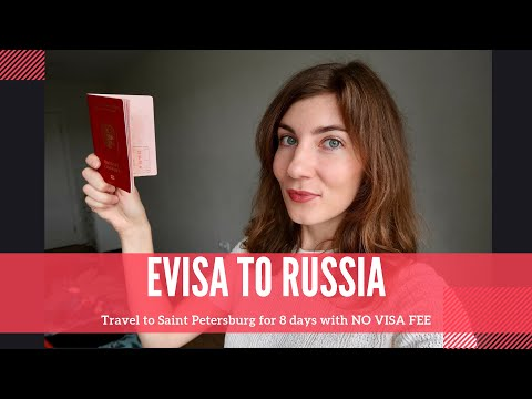 ELECTRONIC VISA TO RUSSIA 2020 | How To Apply Online | Travel To Saint Petersburg For 8 Days