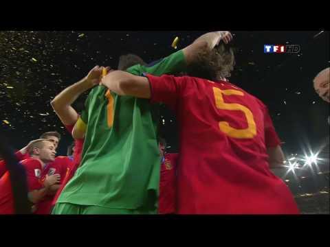 Spain 2010 Soccer World Cup Champion!Espagne Champion du monde!