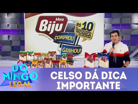 Celso dá dica importante  | Domingo Legal (10/06/18)