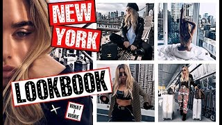 New York LOOKBOOK!! What I wore | Tashietinks
