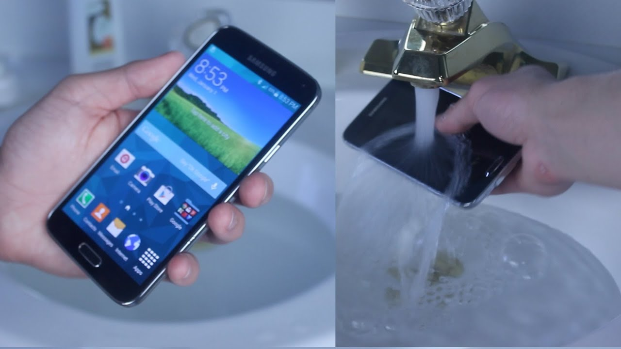 low priced d280a 75691 Samsung Galaxy S5 Water Test - Is It Actually Waterproof?