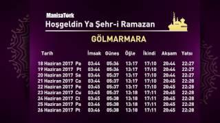 ManisaTürk Ramazan İmsakiyesi 2017 2017 Video