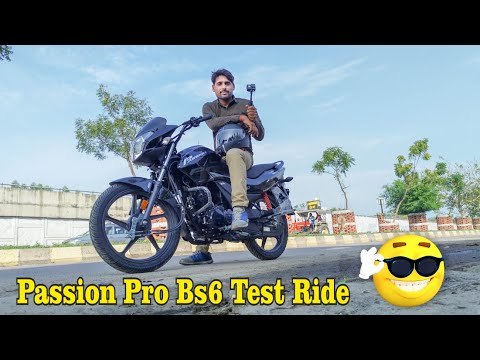 2020 Hero Passion Pro First Ride Review With Mileage Features अच्छी या खराब