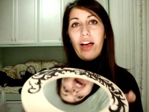 Tutorial: come decorare uno specchio - YouTube