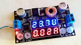 Цифровий стабілізатор або перетворювач напруги та струму (DC-DC конвертер) з Aliexpress