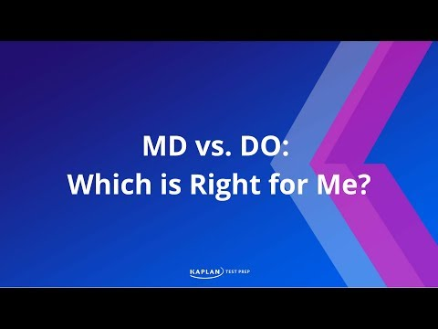 Path to Med School: DO vs MD