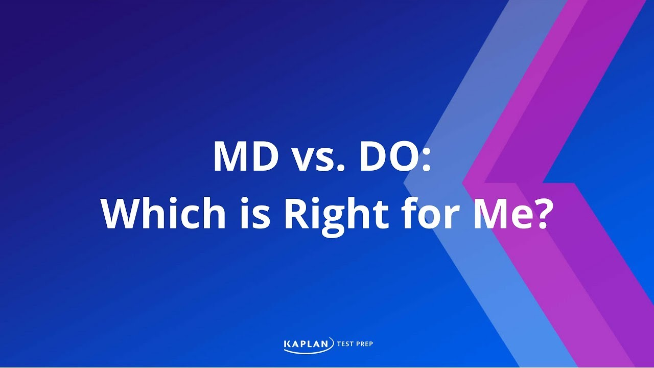Md Vs Do Which Is Right For Me Youtube