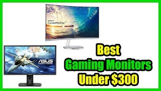 ▶️Best Gaming Monitors Under $300 (2018)