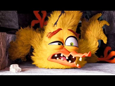 House of Horrors Scene - THE ANGRY BIRDS MOVIE (2016) Movie Clip