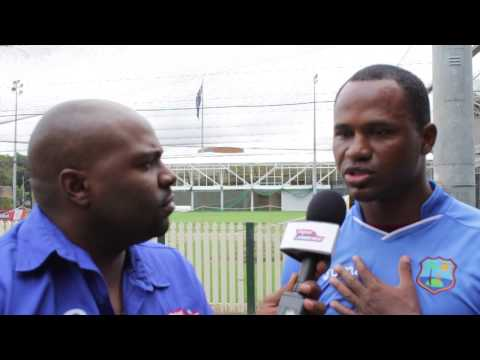 Marlon Samuels on breaking records with Chris Gayle