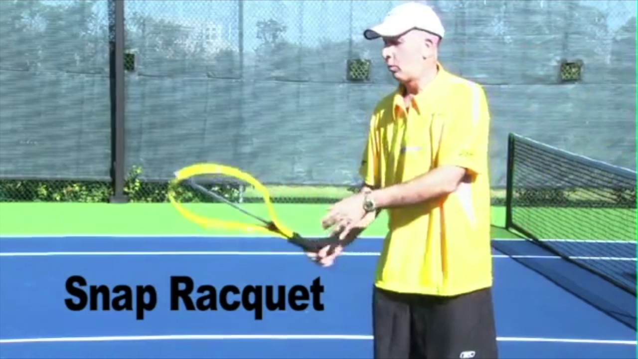 How to Accelerate the Tennis Racquet Head