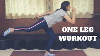 One Leg Workout At Home | Burn Fat And Get Slim Legs | WORKitOUT