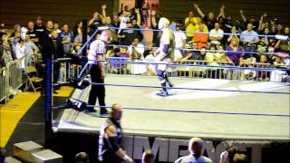 Impact Wrestling/Bully Ray-Mr. Anderson Funny Dialog @ Hammond Civic Center 9-24-2011