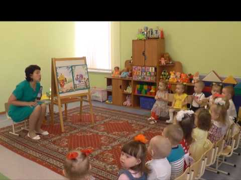 открытое занятие по развитию речи в ясельной группе