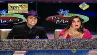 DID Little Masters June 04 '10 - Hansika & Avneet