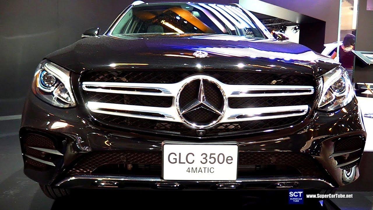 2018 Mercedes Benz Glc Cl 350e 4matic Exterior Interior Walkaround Montreal Auto Sho