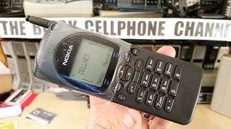 Nokia 2110i unboxing - 1994 Brick phone - GSM900
