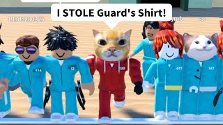 Stronk Cat Played Squid Game in Roblox