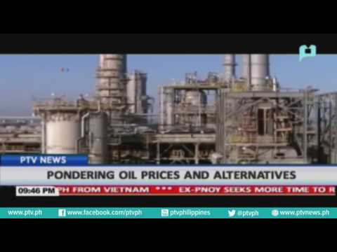 Pondering oil prices and alternatives