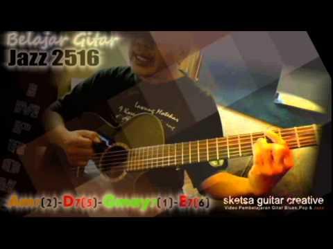 Talk Demo Belajar Gitar Jazz 251 Sketsa Guitar Creative Youtube