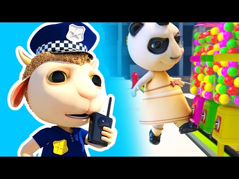 Dolly and Friends 3D | Kids Pretend Play funny Police story helps find missing items! #271