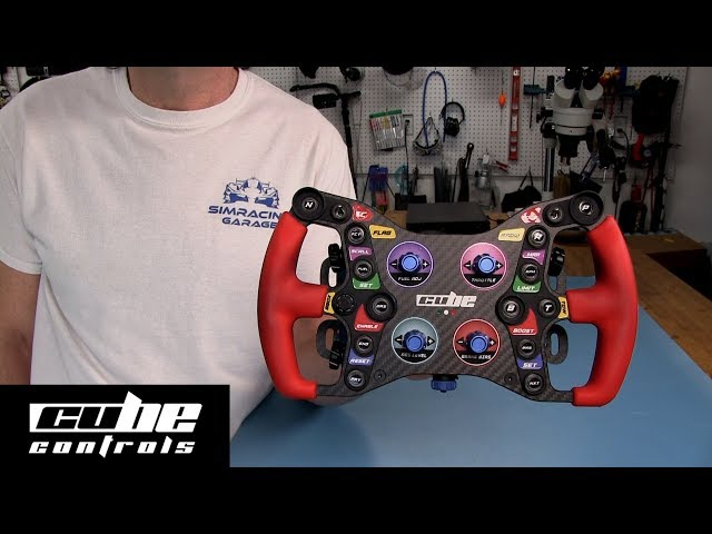Cube Controls Formula Pro Steering Wheel Review By The SRG