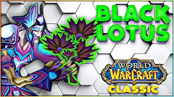Classic WoW The Expensive Black Lotus - Rags to Riches