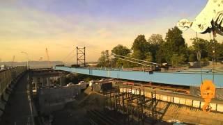 New NY Bridge – Westchester Girder Launch