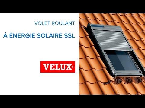 Volet Roulant Solaire Pour VELUX SSL (594263) Castorama   YouTube