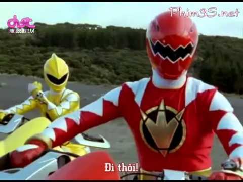 Siêu Nhân Khủng Long Sấm Sét (Power Rangers) Tập 5