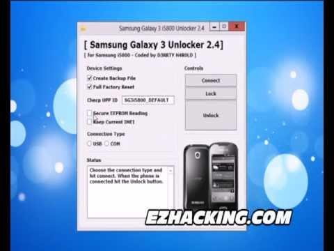 How to Unlock Samsung Galaxy 3 i5800 Apollo