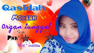 Gambar cover qasidah modern organ tunggal. p h k.  voc' nurlita (group al-alief)