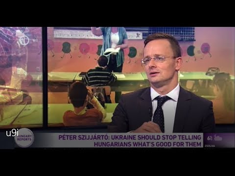 Peter Szijjarto: Ukraine Should Stop Telling Hungarians What's Good For Them