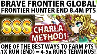 Brave Frontier Global Frontier Hunter How To Farm Pts Effectively (End 8,4M pts)