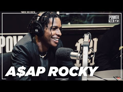 A$AP Rocky on Tyler The Creator New Relationship & The Injured Generation Tour
