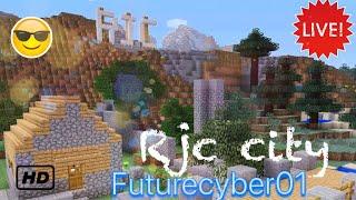 Minecraft RJC city New building!! (Ps4 pro)