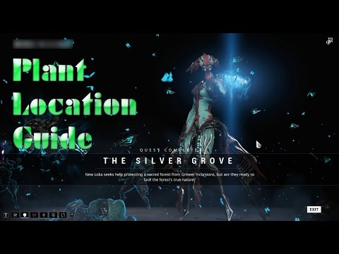 Warframe Quest: The Silver Grove - Finding the crafting material