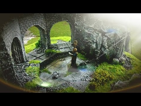 how to make tabletop terrain