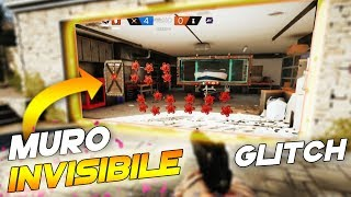 NUOVO GLITCH MURO INVISIBILE | RAINBOW SIX SIEGE GLITCH ITA