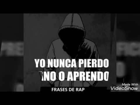 Frases De Canciones De Rap Cortas Bonitas Rimas Y Letras