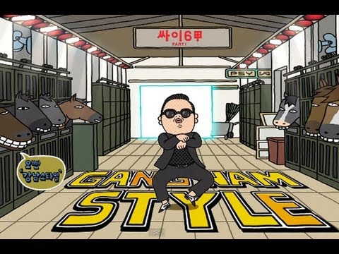 PSY - GANGNAM STYLE (강남스타일) lyrics, Korean & English