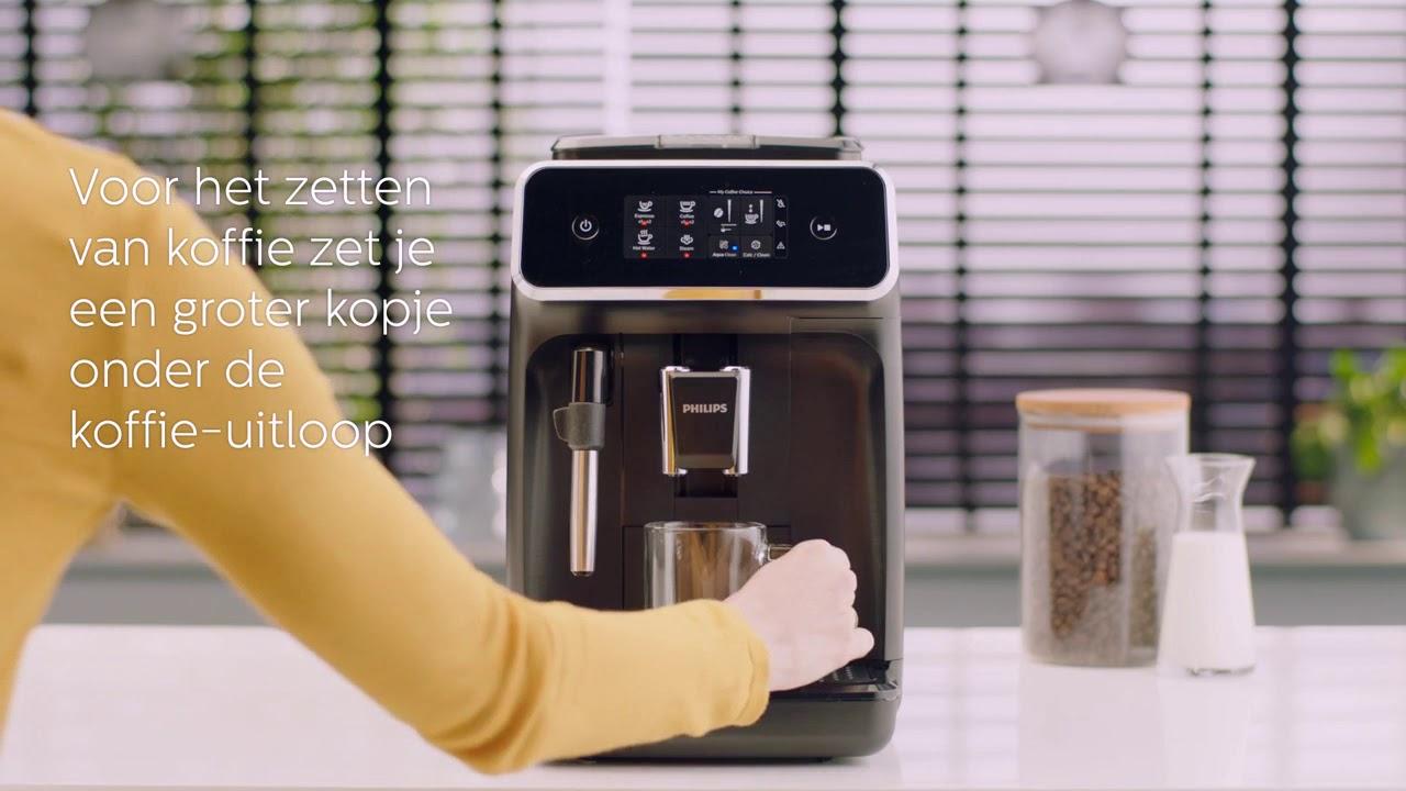 video Philips 2200 serie EP2221/40 Espressomachine – Zwart