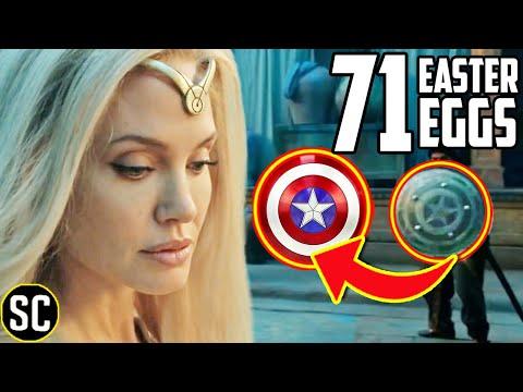 ETERNALS Trailer: Every EASTER EGG  + Captain America & Thanos Connection EXPLAINED Marvel BREAKDOWN