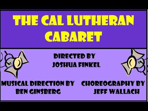 CLU Cabaret Promo Video Fall 2017