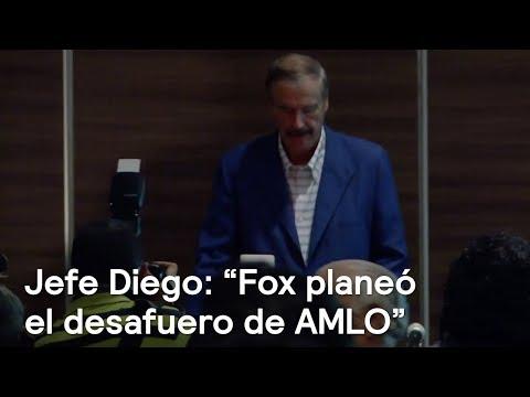"""Jefe Diego: """"Fox planeó el desafuero de AMLO"""" - En Punto con Denise Maerker"""
