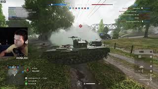 BFV - Churchill Mk VII max upgraded | Twisted steel CQ | 27-0