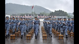 Six hundred Hong Kong students receive military training