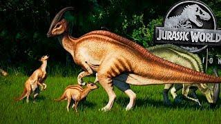 ATUALIZAÇÃO: (baby) Filhotes de Dinossauros?? Dinos MAIORES! | Jurassic World Evolution | (PT/BR)